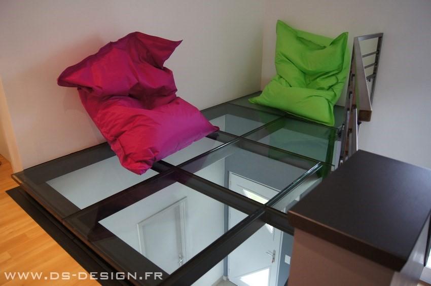 Dalles et planchers de verre
