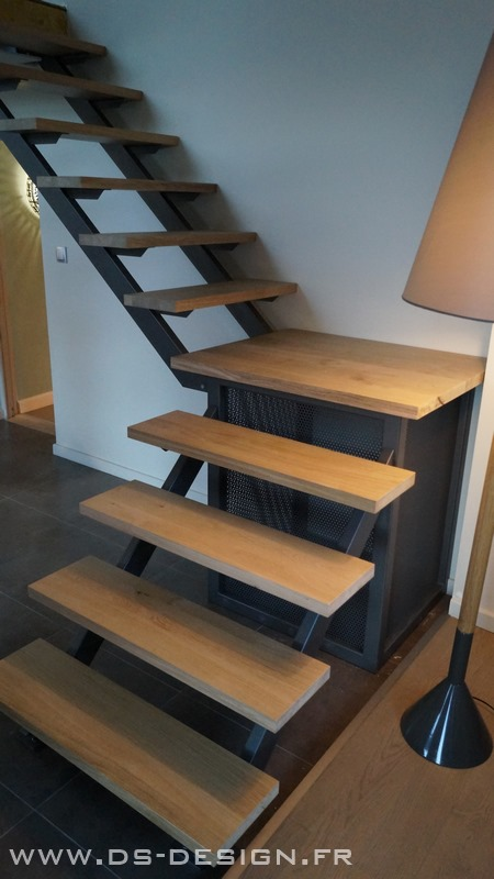 Escaliers rampes garde corps for Escaliers interieur design